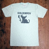 Image of Goldenboy T-shirt (aqua blue)