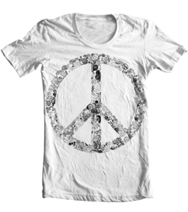Image of Peace, Love and Snails Tee