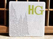 Image of Letterpress Workshop - 2-color Monogram Coasters