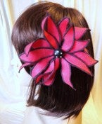 Image of Felt Flower Hair Clip / Brooch