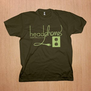 Image of Headphones: Pull The Plug Shirt