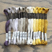 Image of Cosmo Embroidery Floss Palette : Grapevine