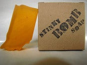 Image of Orange Indiana Soap