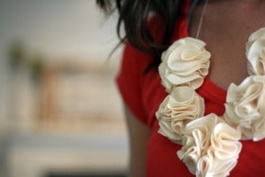 Image of Bloom Necklace:Ivory