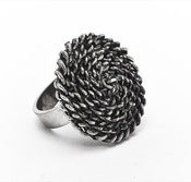 Image of Chain Coin Ring