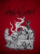 Image of WAKING THE CADAVER RED T SHIRT