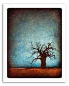 "Image of 8x10"" Paper Print - Horizon Series - Baobab Tree 1"
