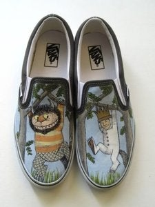 Image of Where the Wild Things Are Wild Rumpus Custom Made Shoes