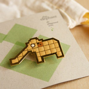 Image of Playground Pins: Elephant
