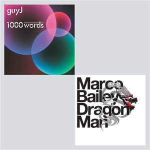 Image of Guy J - 1000 Words 3xCD & Marco Bailey - Dragon Man 2xCD