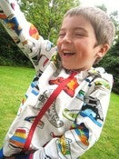 Image of Reversible Zippy Hoodie pattern UNISEX 5Y/6Y/7Y/8Y - PDF