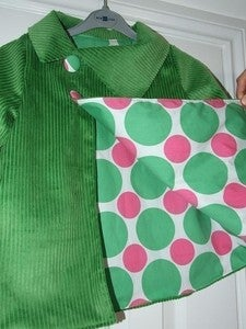 Image of Asymmetrical reversible jacket tutorial and pattern 5Y/6Y/7Y/8Y - PDF