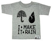 Image of HIGH GLOSS - MAKE IT RAIN -GRAY (YOUTH)
