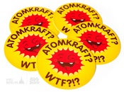 Image of Atomkraft? WTF?!? - Stickerpack