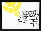 Image of Hand printed French Sofa print