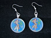 Image of Hula Dancer Earrings