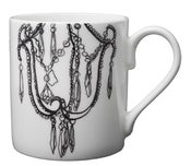 Image of Bone china mug, Decayed glamour collection – Chandelier Design