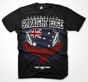 Image of AUSTRALIAN STRAIGHTEDGE T-SHIRT