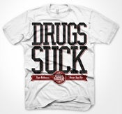Image of DRUGS SUCK T-SHIRT