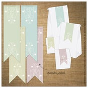 Image of Labels | Ribbon<BR>{Vintage Spring}