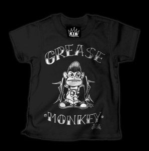 Image of Grease Monkey T-Shirt Style # 1076