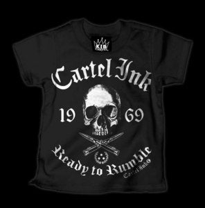 Image of Ready To Rumble Cartel Style Kids T-Shirt Style # 1082