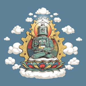 Image of Mr. Ohmz, Buddha Bot v6.0 Art Prints