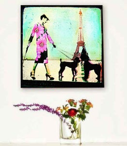 Image of ♥UNE PROMENADE-CANVAS♥