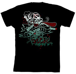 Image of Inked Black T-Shirt