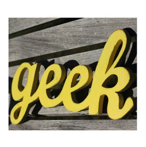 Image of Geek Sign