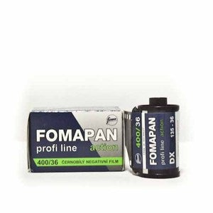 Image of Fomapan 400 Action - B&W 35mm Film