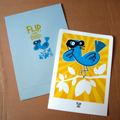 Image of Flip, the bird!