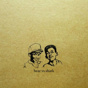 "Image of Bear vs Shark - Right Now You're In The Best of Hands 12"" (red/black)"