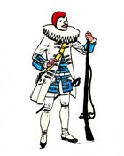 Image of Clown Soldier-Clown Soldier