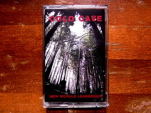 Image of [CHARITY] COLD CAVE &quot;NEW MORALE LEADERSHIP&quot; JAPAN EDITION