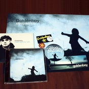 Image of Goldenboy CD & poster pack