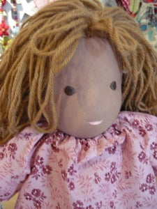Image of Simple Formed Doll - Waldorf/Steiner