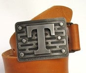 Image of Bespoke Initial Buckle  TREAD
