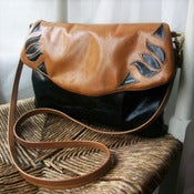 Image of Honey - cross body Black and Tan