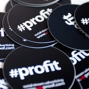 Image of #Profit stickers