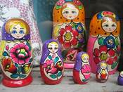 Image of Russian nesting dolls - Print