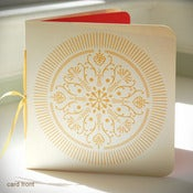 Image of Golden Medallion Holiday Card {#147}
