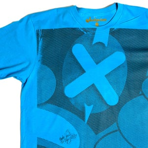 Image of X MARKS THE SPOT TEE Blue