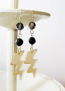 Image of Gold High Voltage Earrings [Available in 4 colors]