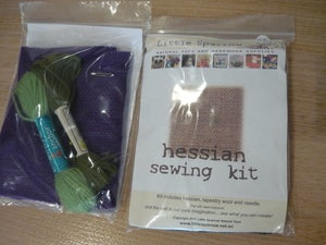 Image of Hessian Sewing Kit