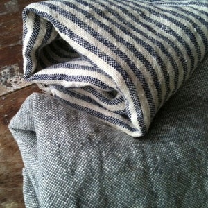 Image of Fog Linen Thick Chambray Bath Towel