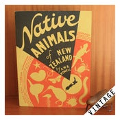 Image of NATIVE ANIMALS OF NEW ZEALAND by AWB Powell