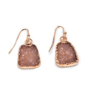 Image of Druzy Earrings *As seen in Good Housekeeping
