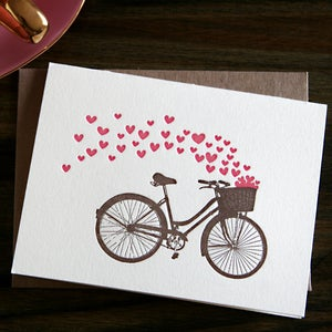 Image of Bicycle Love note