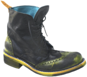 Image of No.0008 INTERCHANGE wingtip boot Black